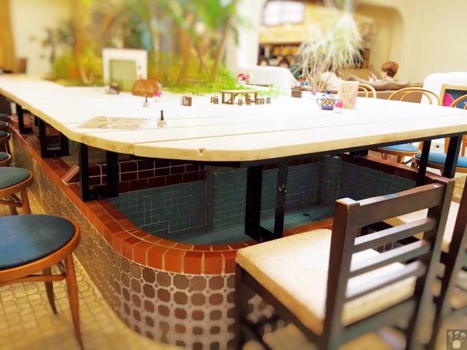 ハシゴカフェ 主浴槽