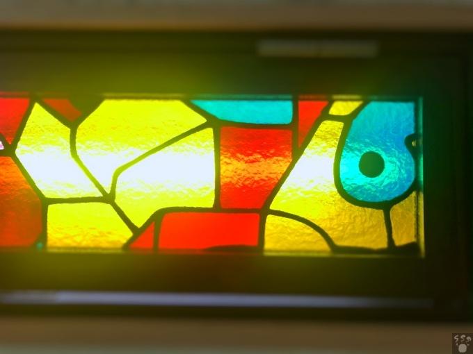 サウナジャンボ ステンドグラス