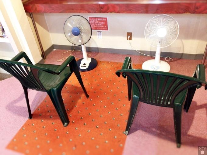 サウナジャンボ 扇風機浴