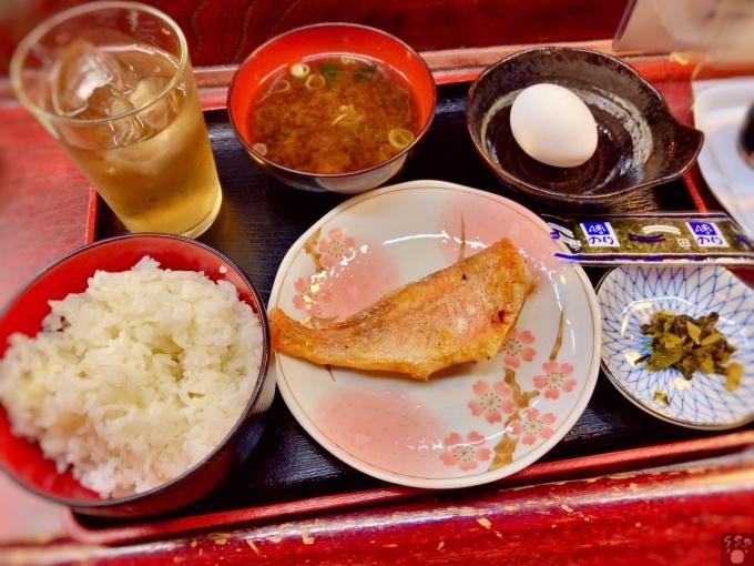 サウナジャンボ 朝飯